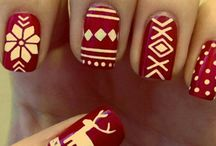 Christmas Holiday Nails / by Cynthia Coffield