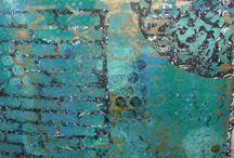 Art - Gelli Plate / by Teresa Pannell