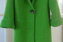 örgü ceket - palto