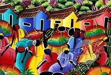 CUADROS DOMINICANOS Y CUBANOS