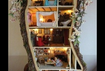 tree doll house