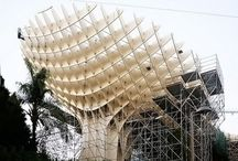 Freeform wooden architecture
