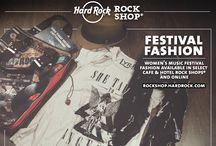 HARD ROCK WOMENS FESTIVAL FASHION / The best of the 2013 Summer collection for women is on hardrock.com!