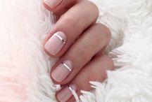short nude nails winter 2017