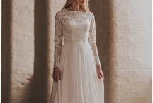 Shikoba Bride - Beth Long Sleeve Lace Dress