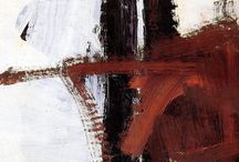 Franz Kline - favourite artists board / Franz Kline - favourite artists board  inspirations:D