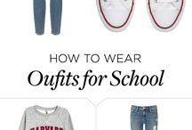 vestiti casual schools