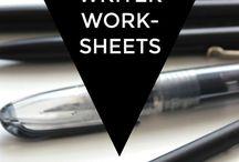 Writing - worksheets.