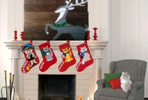 The Busy Elf Workshop Christmas Stockings