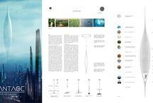 Futuristic / futuristic architecture, skyhanger, The Plantage Skyhanger, eVolo, eVolo 2016