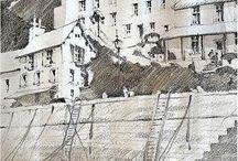 ART: Thomas W. Schaller watercolor