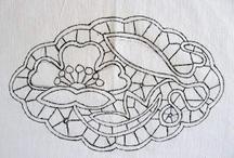 laseta-punto rumeno-point lace