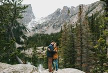 engagement // mountain winter.