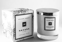 Golden Amber by Havana Home / A rich herbal blend infused with a combination of essential oils.  This is a Havana Home favourite, perfect for all seasons