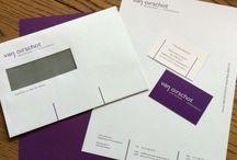 Corporate huisstijlen / logo, briefpapier, envelop, visitekaartjes etc