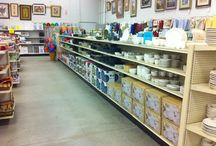 Dinnerware & Glassware / Shop aisle after aisle of open-stock dinnerware, dinnerware sets, serving dishes/platters, decorative bowls, glasses, wine glasses (stem and stemless), vases and much more! Whether you need 4 glasses for your home, or 400 for a catering event, we've got what you're looking for.