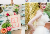 Summer colorful wedding