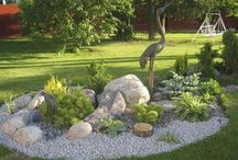 How to do landscaping with rocks