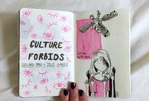 Sketchbooks inspiration