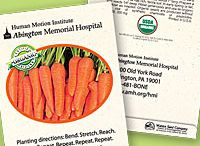 Personalized Organic Vegetable Seed Packets
