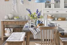 Ideias para a casa / Bonitezas copa/cozinha. Dizem que a cozinha é a alma da casa...