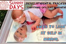 Developmental Tracker / Track your child's development closely with the Sunny Days Developmental Tracker as we go over different areas of development at different ages in your child's life!