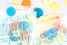 PARTY ON: Confetti / by Tiffany Benson <PaperLaneDesign>
