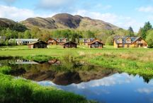 Loch Lomond Waterfront / Genuine Lochside 5* lodges, complete with hot tubs and  facilities for launching most craft.