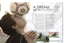 Page Layouts / Sports and page layouts