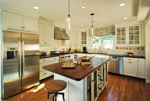 Chef worthy kitchens / by Merrick Design and Build Inc.
