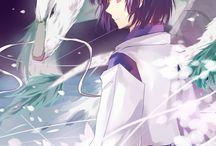 Anime fantasy art