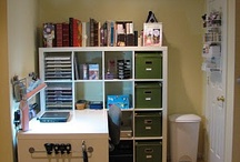 Small Scrapbooking Spaces / by Kathleen Driggers