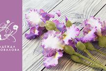 мк цветы их фоамирана