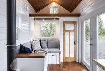30ft | Custom Loft Edition Tiny House / This home comes with attention to its carbon footprint by adding a solar conduit, a 40-gallon freshwater tank, and Nature's Head Decomposing Toilet