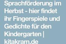 fingerspiele und Co