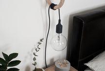 Lampor/växter decor