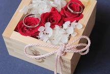 Wedding結婚式: Ring pillow リングピロー