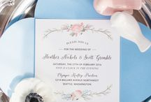 Pantone 2016 Wedding Inspiration / A collaborative Rose Quartz and Serenity Blue, Pantone Colors of the Year 2016 styled shoot by Seattle Washington wedding vendors. Published by the Perfect Palette: www.theperfectpalette.com/2016/02/pantone-color-of-year-rose-quartz-and.html