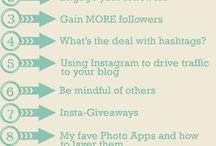 Instagram Tips & Tools / Tips/Tricks/Tools to help you rock your social media presence on #Instagram! #socialmedia