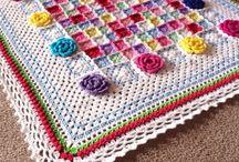 crochet giant squares, rectangles