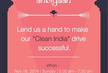 Clean India drive / a small initiative for big dream!!