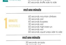 Workouts / How to torture myself in a healthy way! / by Elbia Cruz