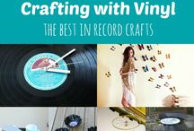Vinyl and Other Cool Music Craft Ideas.
