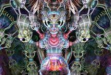 Psykedelic art