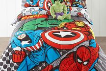 Marvels Comics Avengers Bedding