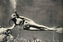 Potápění foto historie / Historie-foto