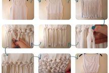 modificações nas roupas