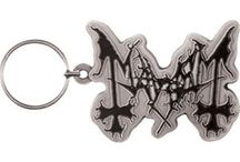 Black Metal / A selection of some of the black metal merch available from the www.HeavyMetalMerchant.com online store