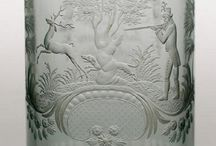 Hieronymus Hackel (1784-1844) - Biedermeier Bohemia glass