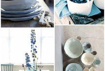 Цветомания: синий, бирюзовый